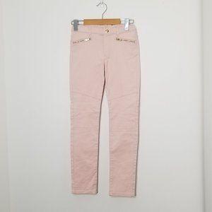 🆕️H&M | Pink Girls Skinny Denim Jeans Zip